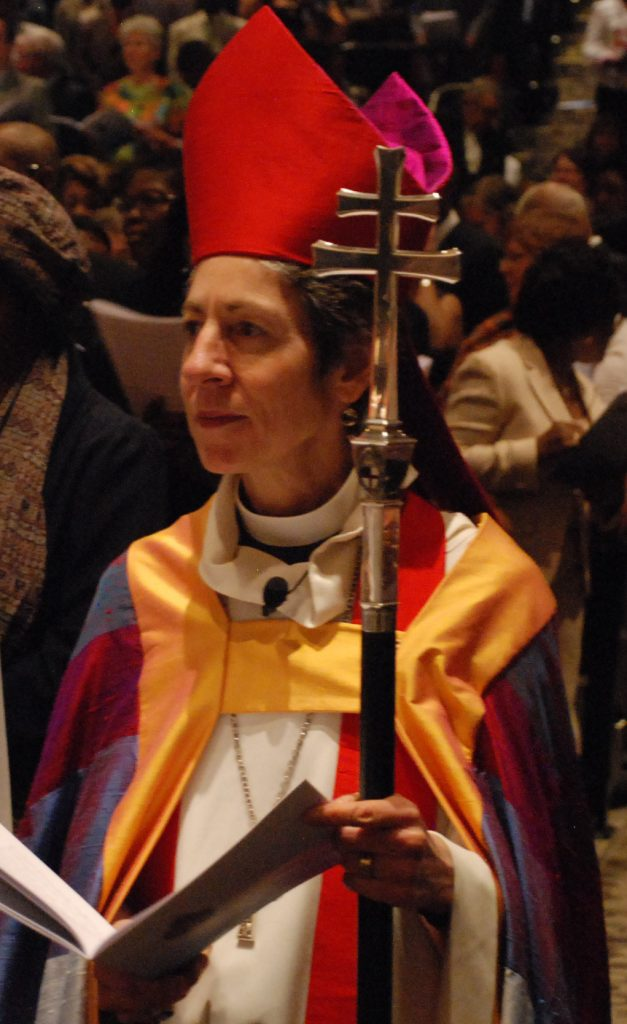 Former Presiding Bishop Schori Joins Pilgrimage